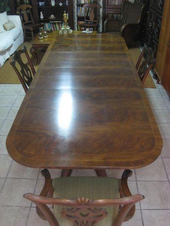 Mesa de jantar e Sala Drexel - 8 cadeiras - Design by Drexel Heritag