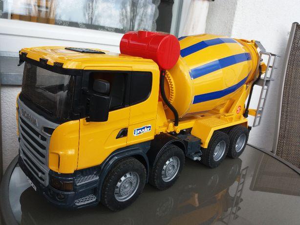 Ciężarówka Scania Betoniarka Bruder 03554