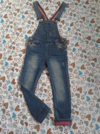Джинсовий комбинезон штани