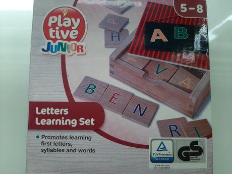 Alfabet drewniany jak nowy