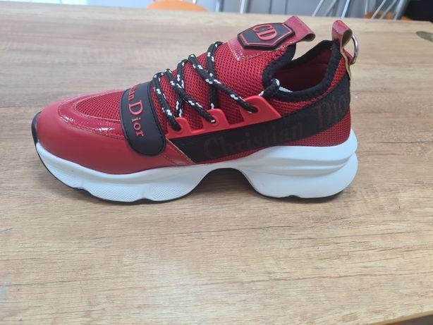 Buty dior czerwone