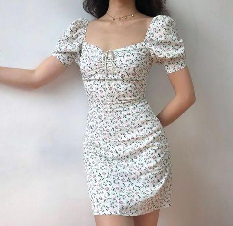 Нежное летние платье
