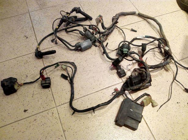 Zzr 1100 parte eléctrica