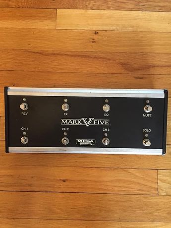 Mesa boogie mark v footswitch + cabo