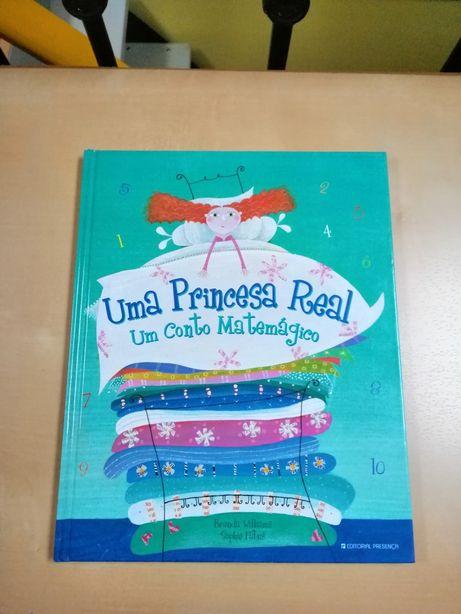 Livro - Uma princesa real, um conto matemático