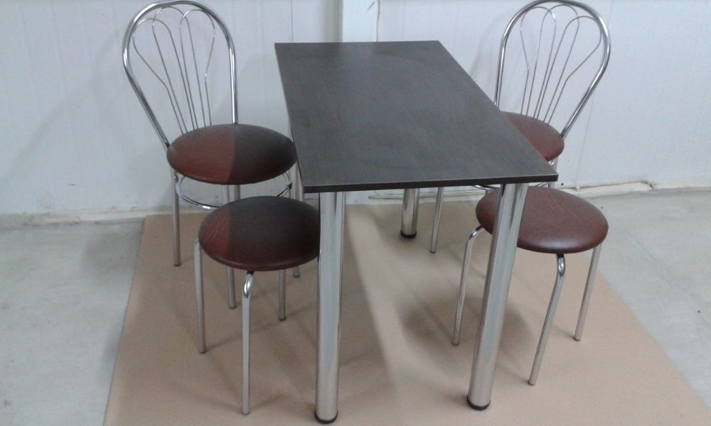 Dostawa GRATIS Stół kant mix 2 krzesła 2 taborety Dostawa GRATIS
