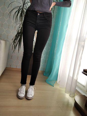 Zara outlet mega czarne rurki S/M mega okazja