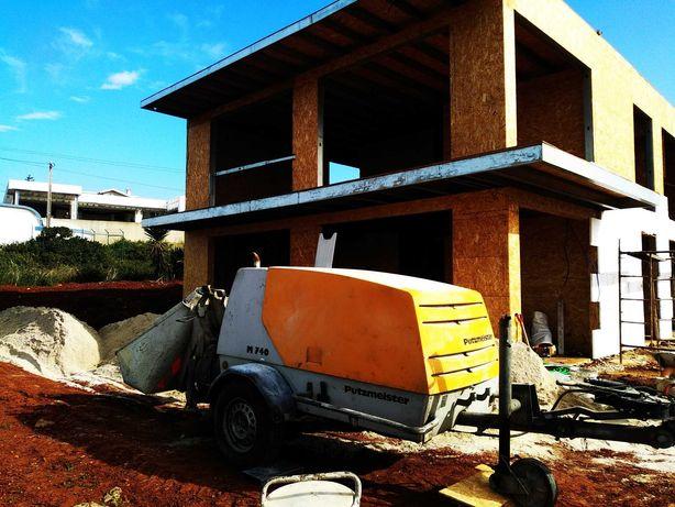 Aluguer máquinas para betonilha em todo o país fácil e rápido