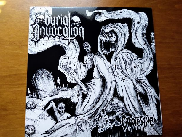 BURIAL INVOCATION - Rituals of the Grotesque kvlt LP