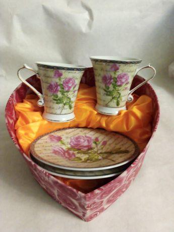 Кафейный набор чашек продам