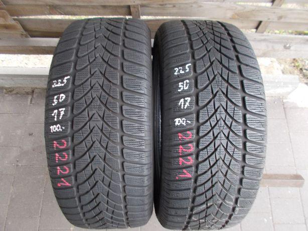 2x Dunlop 225/50/17