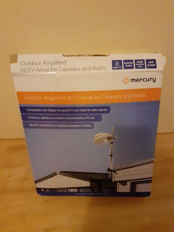 Antena HDTV na kemping i łodzie radio DAB/FM