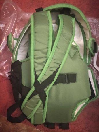 Рюкзак-кенгуру зелений