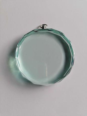 Medalha de Vidro sem marcação / gravação com caixa