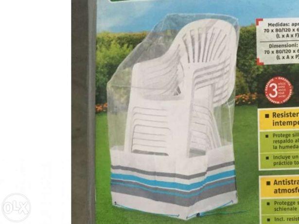 Capa proteção móveis jardim