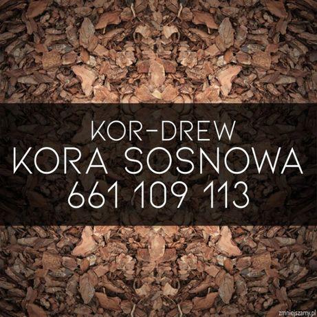 Kora Sosnowa Sortowana 80L Bydgoszcz Okolice Dowóz