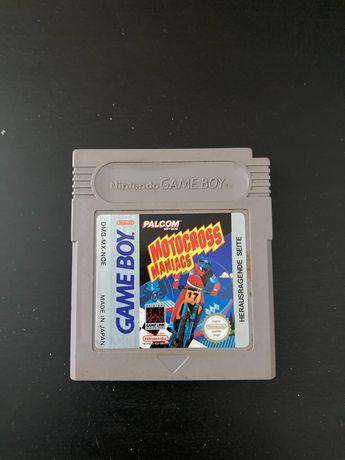 Motocross Maniacs Gameboy Game Boy Nintendo gra