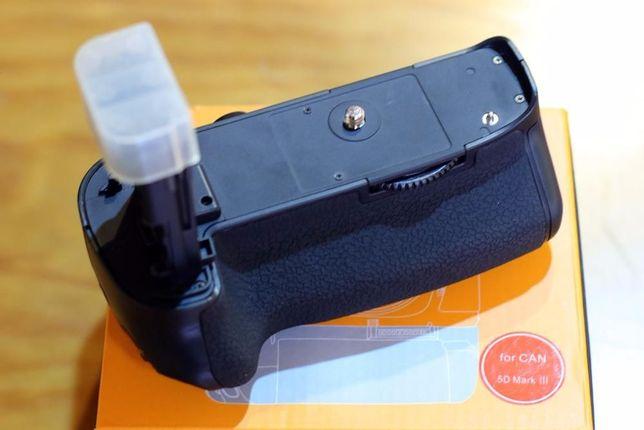 Punho Grip tipo BG E11 para Canon 5D Mk III - Novo