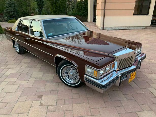 Auto na ślub | Cadillac De Ville 78 | 1977 rok | Klasyk, zabytek!