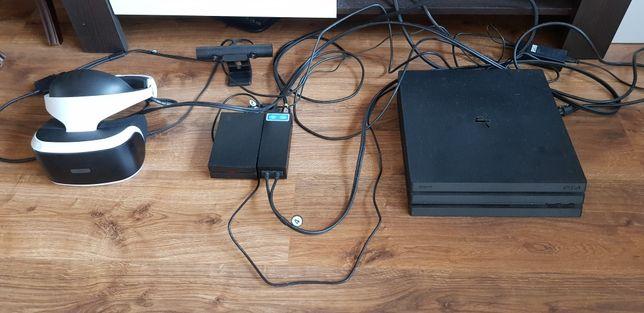 Konsola Playstation 4 Pro + PSVR + kamerka