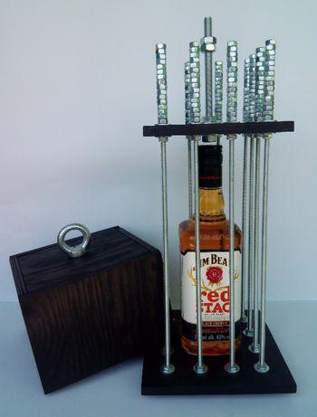 Klatka na ALKOHOL! Mega prezent! W czarnym kolorze! Nowa! hobby