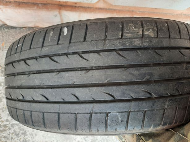 Одна шина 225 55 R18 резина Bridgestn .протектор 3-4мм цена 420 griven
