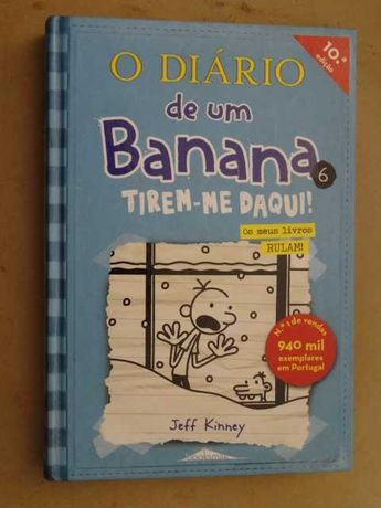 O Diário de Um Banana - nº 6 de Jeff Kinney - 1ª Edição