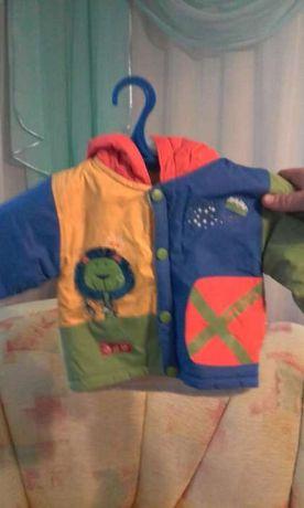 Продам детскую курточку для годовалого ребенка