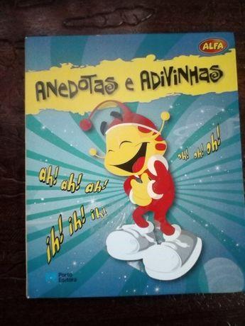 Livro Anedotas