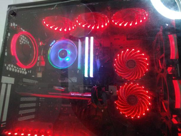 SUPER Komputer Gamingowy Ryzen7 2700|R9 390|32GB RAM|SSD 500GB|HDD 2TB