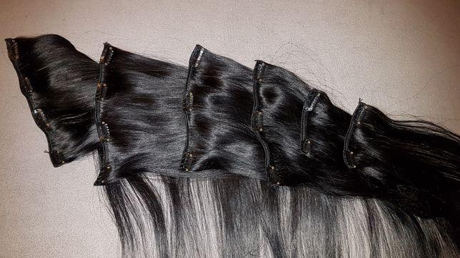 Extensões de cabelo 100% natural