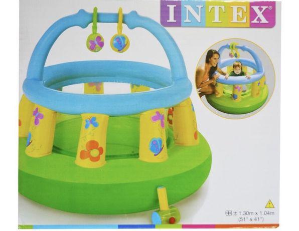 Надувной манеж бассейн INTEX