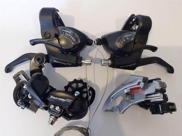 Перекидка переключатель задний передн моноблоки манетки Shimano TX800.