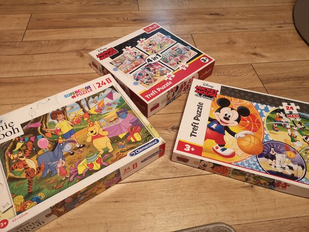 Puzzle 3+ Disney