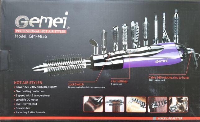 Стайлер фен для укладки волос 10в1