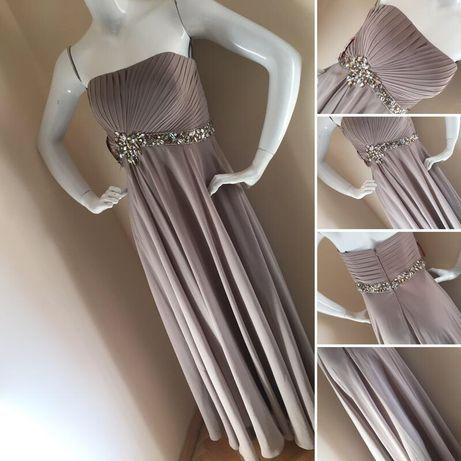 Шикарное вечернее выпускное платье в пол