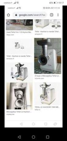 Maquina TEFAL de triturar carne ou legumes