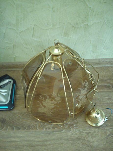 żyrandol lampa niemiecka idealna polecam