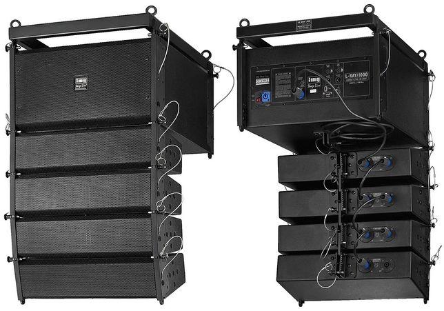 System głośnikowy line-array PA