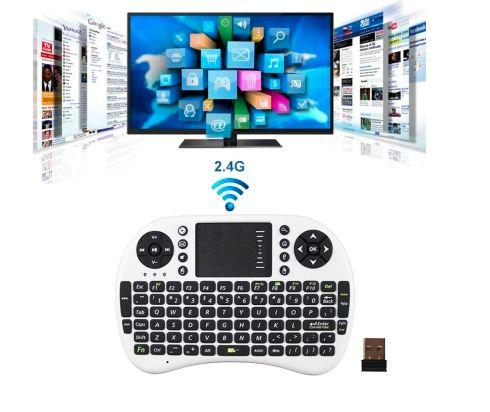 Безпровідна клавіатура з підсвіткою для Smart TV