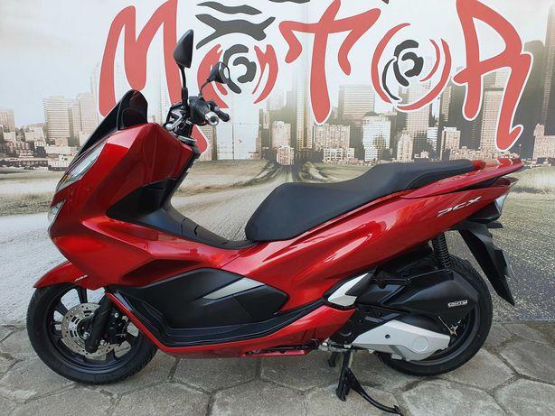 Honda PCX 125 / ABS / Full LED / Nowy model / Piękny bordo metalik