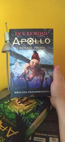 Apollo boskie próby tom2 mroczna przepowiednia Rick Riordan