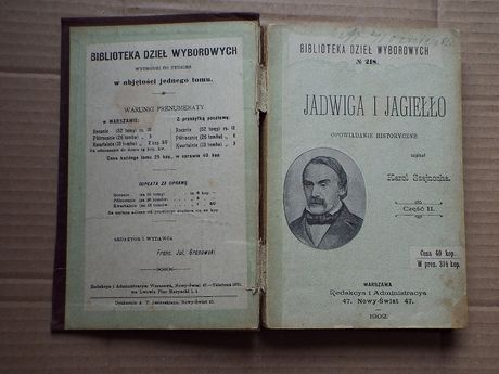 "Karol Szajnocha - ""Jadwiga i Jagiełło"", cz.II."