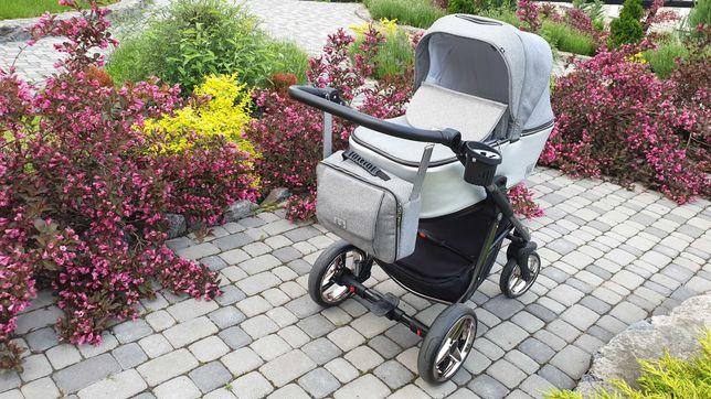 Детская коляска 2 в 1 Adamex Reggio Limited Chrom Lux Y831