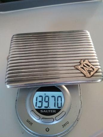 Srebrna papierośnica 830