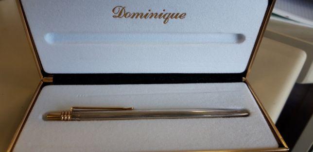 Esferográfica em Prata Dominique