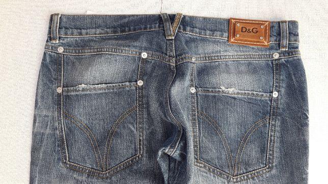 Новые D&G джинсы бойфренд зауженные оригинал женские штаны брюки