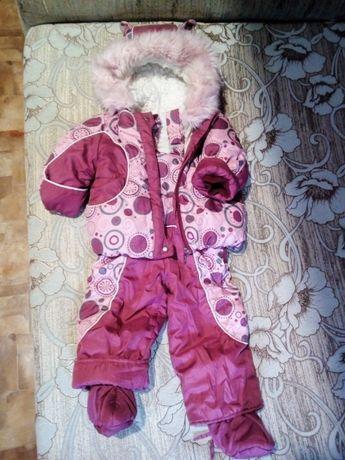 Демисезонный-Зимний комбинезон-костюм