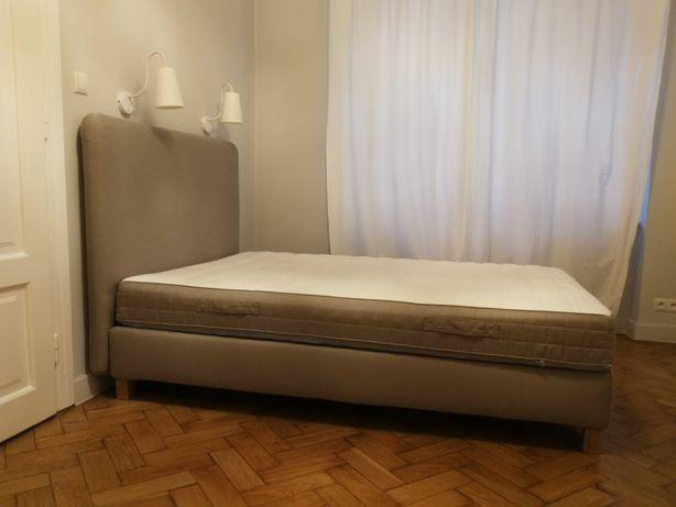 Łóżko IKEA + materac HAMARVIK 140x200