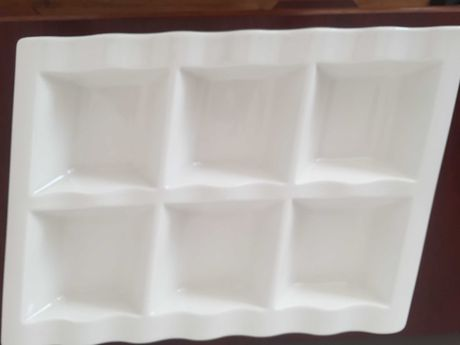 Patera -porcelana , Villeroy & Boch ,na  przystawki ,  NOWY